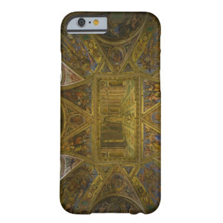 A frecoed ceiling by Raphael in the Hall of Barely There iPhone 6 Case