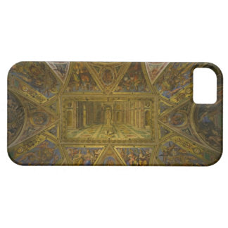 A frecoed ceiling by Raphael in the Hall of iPhone SE/5/5s Case