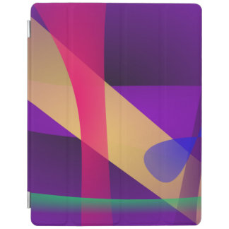 A Free Purple Abstract Space iPad Cover