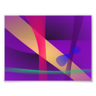 A Free Purple Abstract Space Photo Print