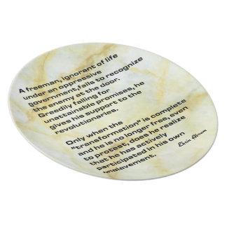 A Freeman Party Plates