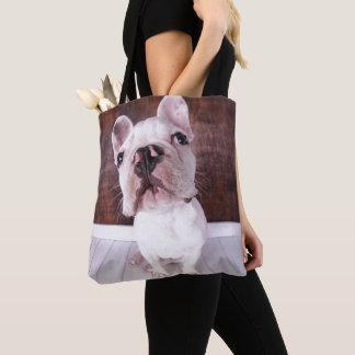 A French Bulldog Puppy Tote Bag