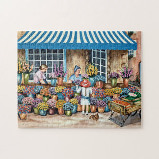 A French Flower Market Puzzle