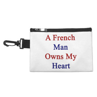 A French Man Owns My Heart Accessories Bag