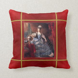 A French Royalty American MoJo Pillow