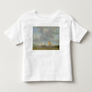 A fresh breeze on the Elbe, c.1830 Toddler T-shirt