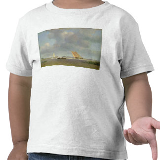 A fresh breeze on the Elbe, c.1830 T-shirt