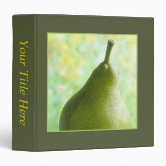A Fresh Organic Pear Binder