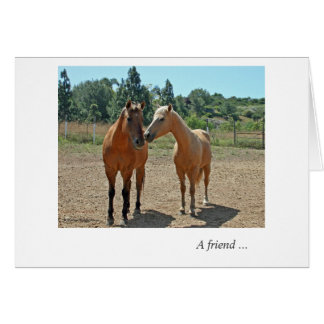 A friend ... card