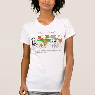 A friend cow in need. Go veg! T-Shirt