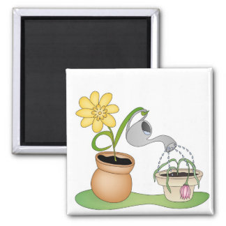 A Friend In Need 2 Inch Square Magnet