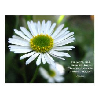 A Friend Like You Poem Postcard