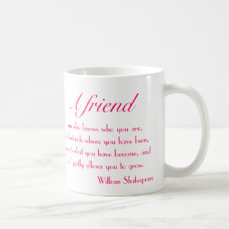 A Friend Mug