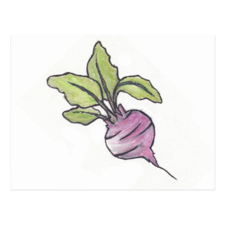 A Friend That Can't Be Beet Postcard