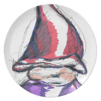 A Friend The Elf Named Toadstool Dinner Plates