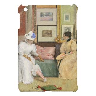 A Friendly Call, 1895 (oil on canvas) iPad Mini Covers