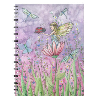 A Friendly Encounter Fairy Ladybug Notebook