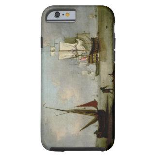 A Frigate in Calm Water Tough iPhone 6 Case
