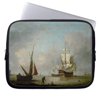 A Frigate in Calm Water Laptop Computer Sleeve