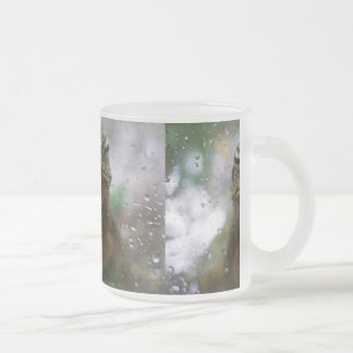 A Frog Day Frosted Glass Coffee Mug