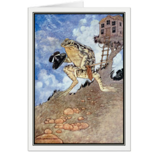 A Frog He Would A-Wooing Go by Charles Robinson Card