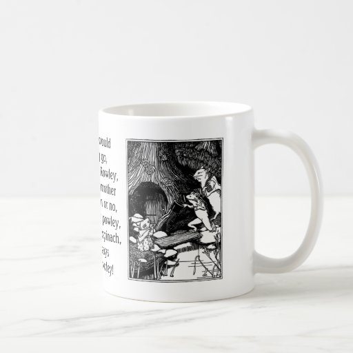 A Frog He Would A-Wooing Go Mugs