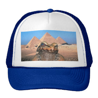 A Frog In Egypt (Pyramids) Trucker Hat
