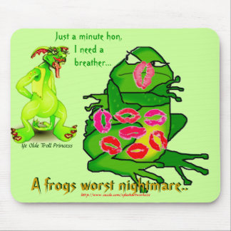 A frogs worst nightmare! mouse pad