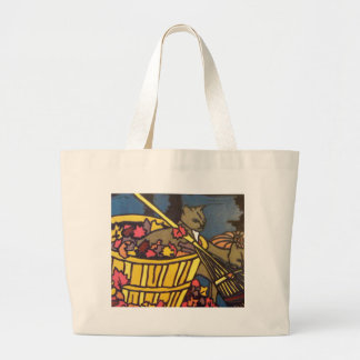 A Frolic in the Autumn Mist Canvas Bags