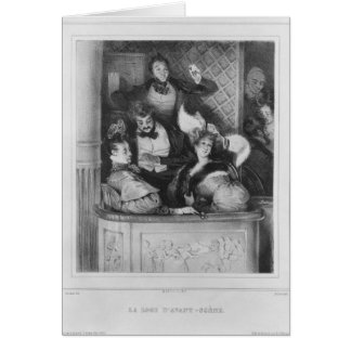 A front theatre box, engraved by Julien Card