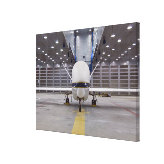 A front view of a Global Hawk unmanned aircraft Canvas Print