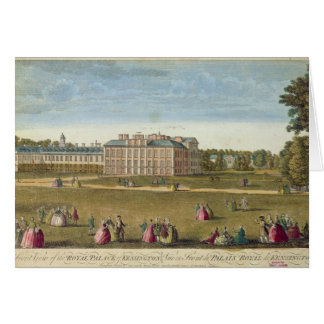 A Front View of the Royal Palace of Kensington Card