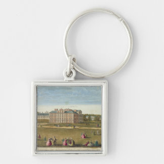 A Front View of the Royal Palace of Kensington Keychain