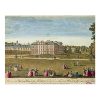 A Front View of the Royal Palace of Kensington Postcard