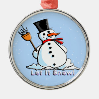 A Frosty Snowman Ornament