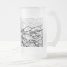 A Frozen Baltic Sea Of Ice On Glass Or Mug at Zazzle