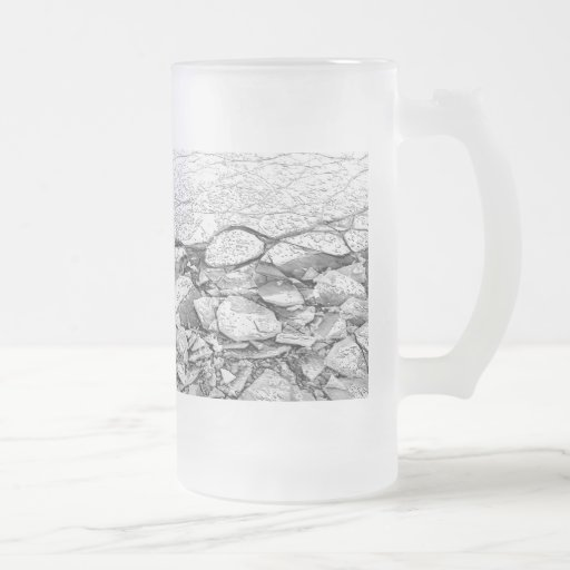 A Frozen Baltic Sea Of Ice on Glass or Mug