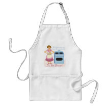 A Frozen Dinner Means Supper Housewife slogan Adult Apron