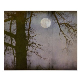 A Full Moon print