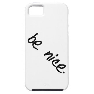 "A full selection of ""be nice."" products. iPhone SE/5/5s case"