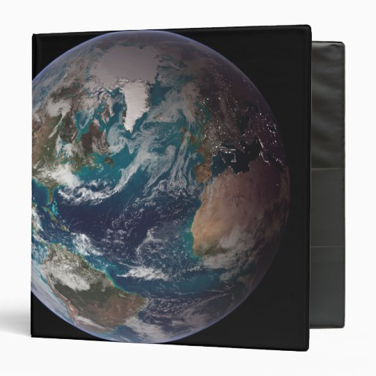 A full view of Earth showing global data 2 Binder