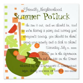 A fun and delicious salad invitation
