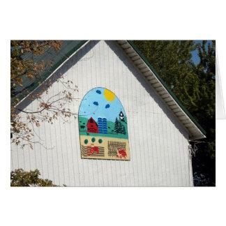 A Fun Barn Quilt Card