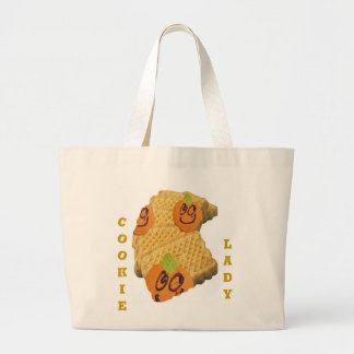 A fun cookie lady, tote bag