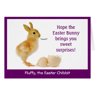 A Fun, Slightly Twisted Easter Card