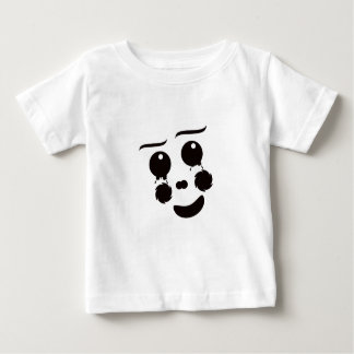 A fun whimsical clown face design graphic baby T-Shirt