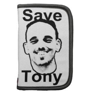 A Fundraiser to Save Tony Silva Folio Planners