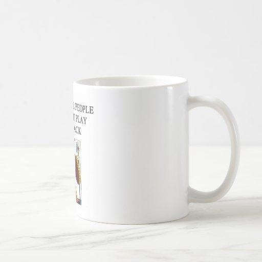a funny blackjack joke coffee mug