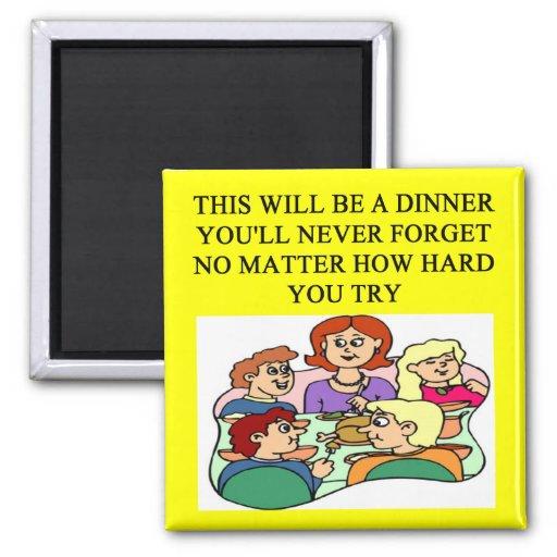 a funny dinner joke magnets
