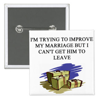 a funny divorce idea for you! 2 inch square button